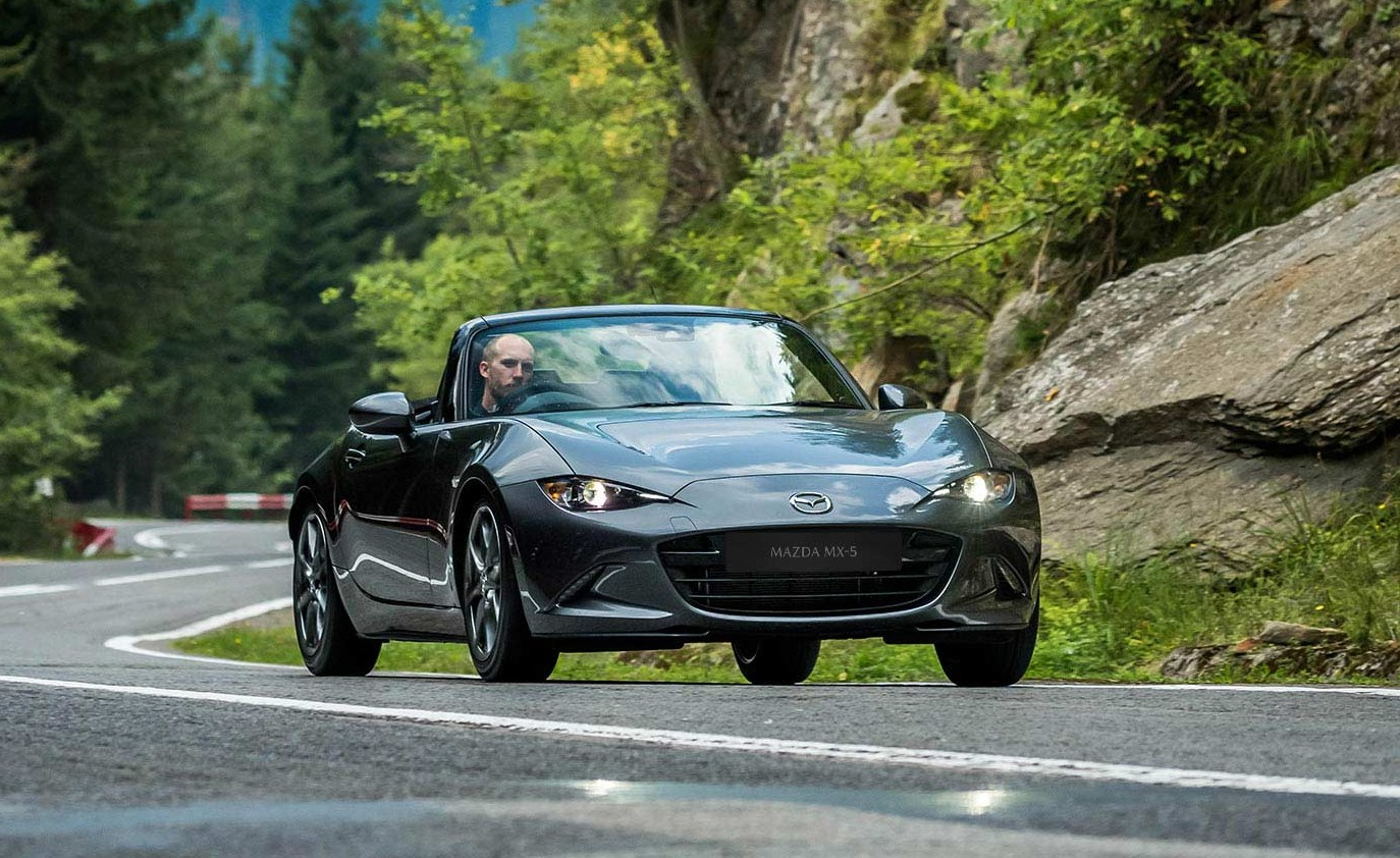 Mazda Mx 5 Forest Road Sq